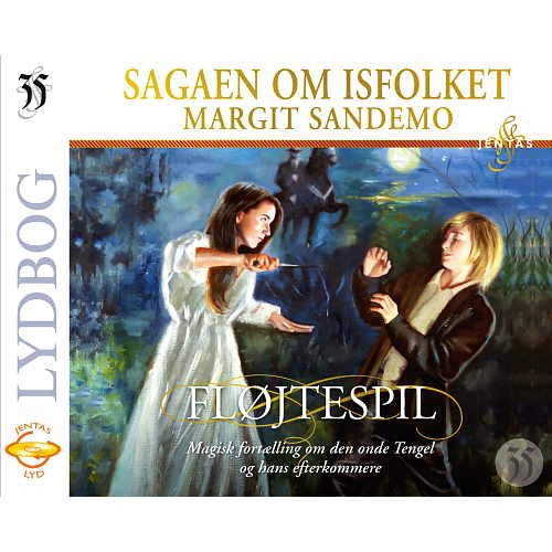 Isfolket 35 - Fløjtespil - Margit Sandemo - Cd Lydbog