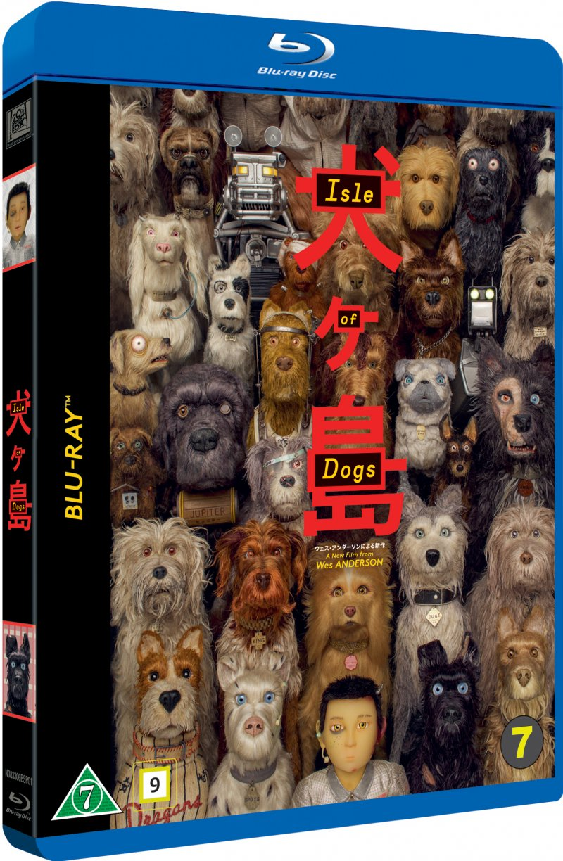 Image of   Isle Of Dogs - Wes Anderson - 2018 - Blu-Ray