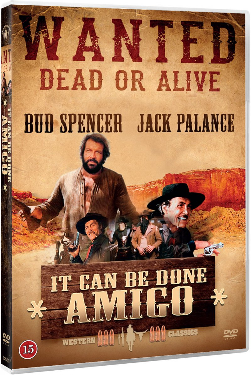 It Can Be Done Amigo / Halleluja Amigo - DVD - Film