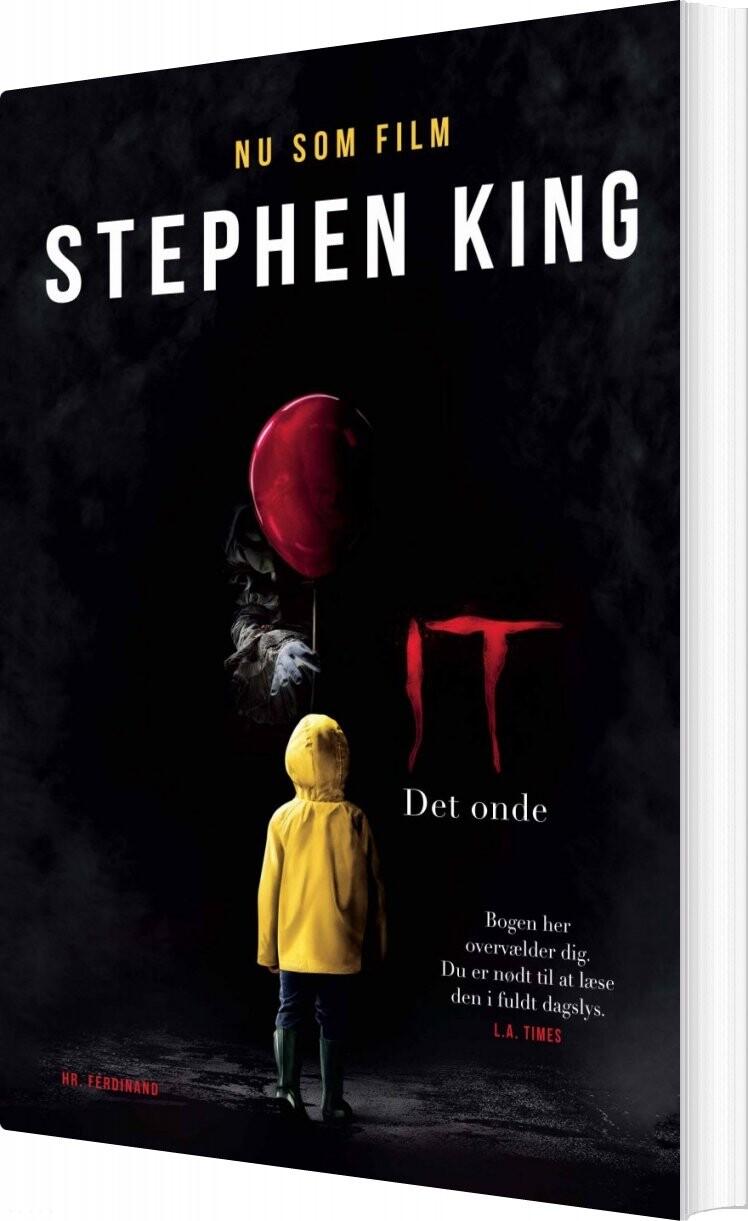 Image of   It / Det Onde - Stephen King - Bog