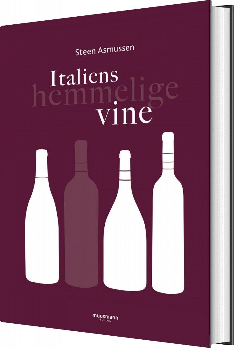 Italiens Hemmelige Vine - Steen Asmussen - Bog