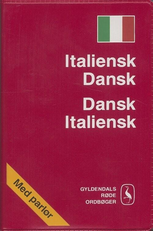 Image of   Italiensk-dansk/dansk-italiensk Ordbog - Erling Strudsholm - Bog
