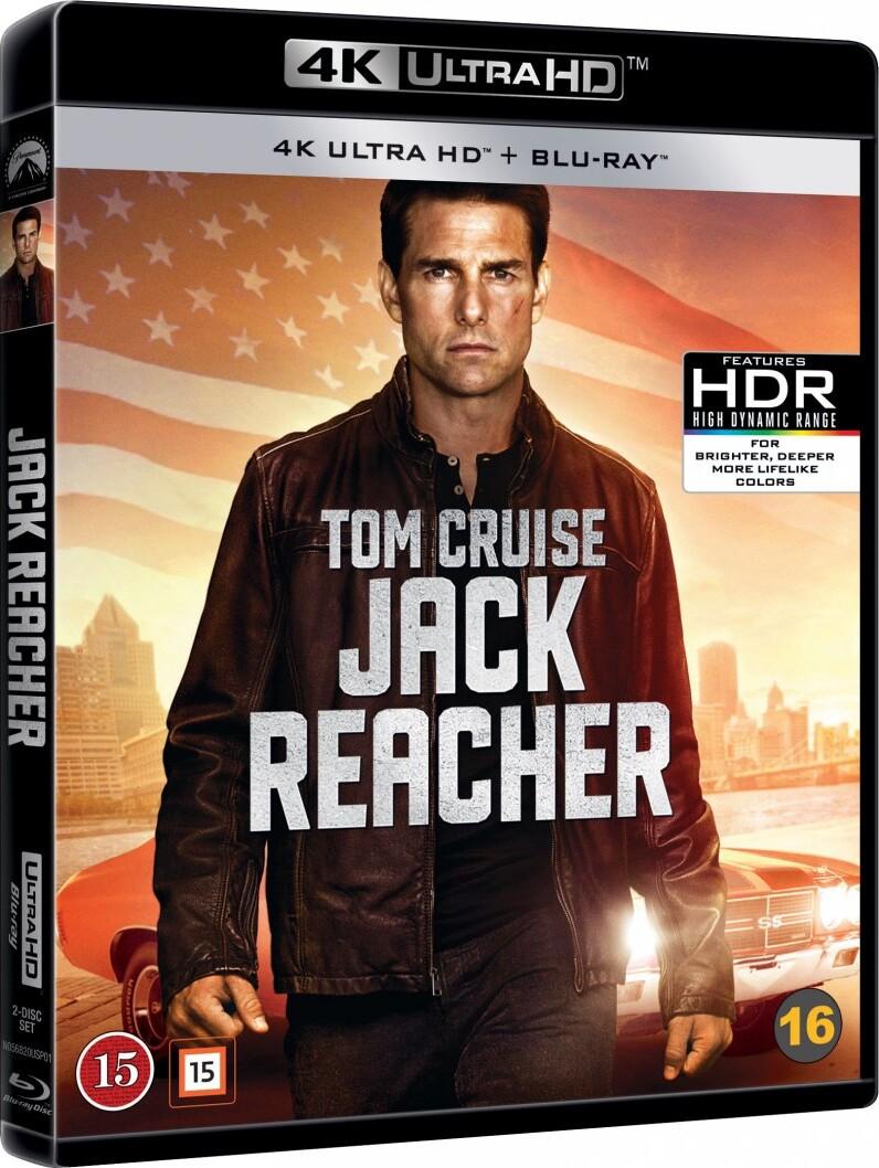 Image of   Jack Reacher - 4K Blu-Ray