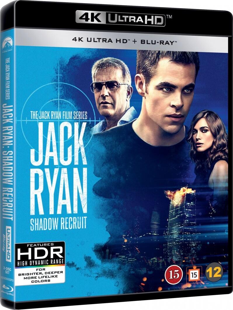 Image of   Jack Ryan - Shadow Recruit - 4K Blu-Ray