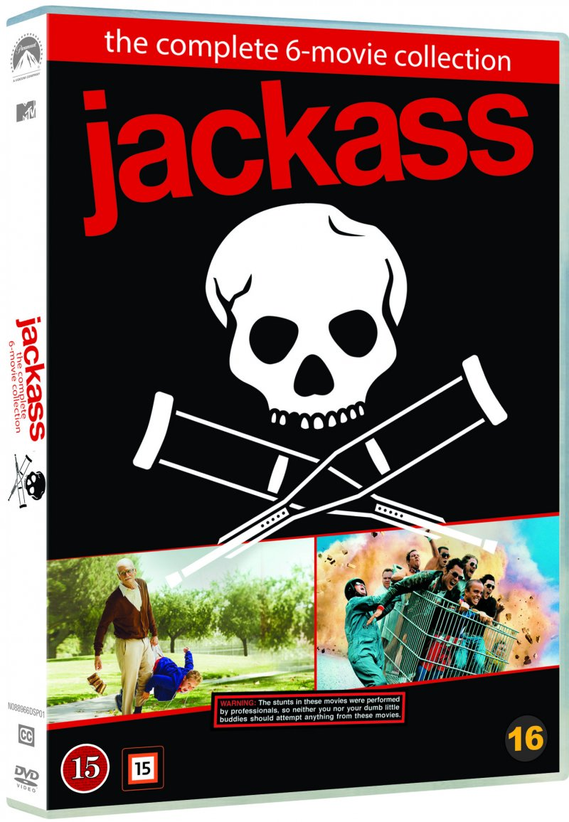 Image of   Jackass - The Complete Collection - Box Med 6 Film - DVD - Film