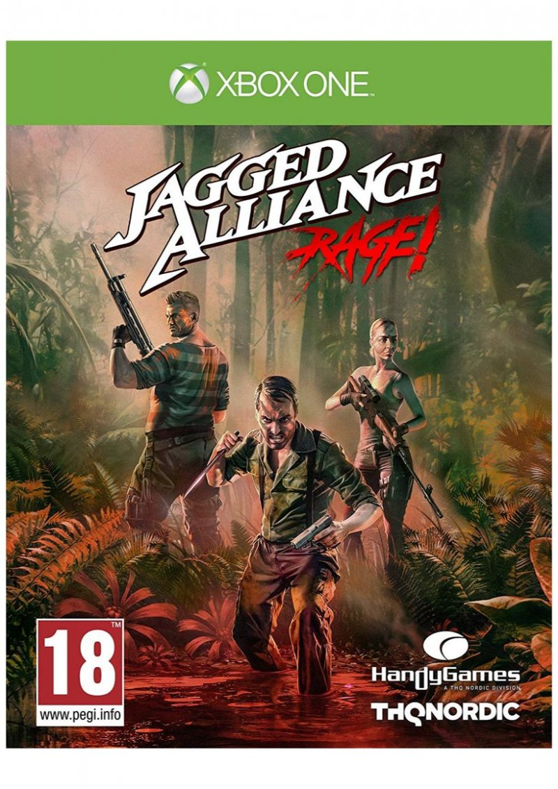 Image of   Jagged Alliance: Rage! - Xbox One
