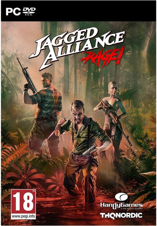 Image of   Jagged Alliance: Rage! - PC