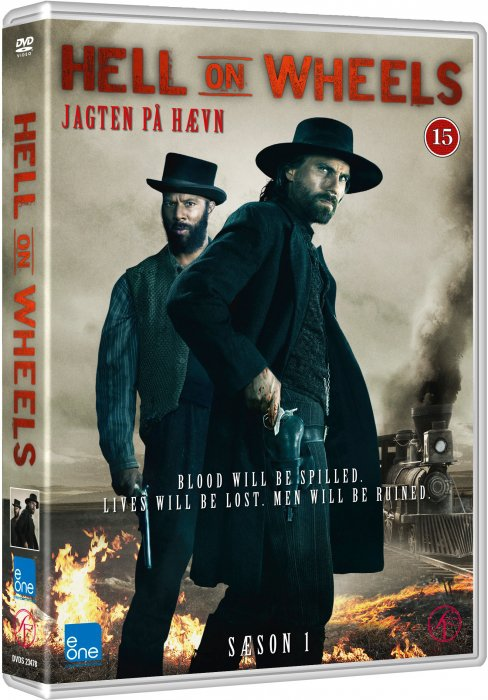 Hell On Wheels - Sæson 1 - DVD - Tv-serie