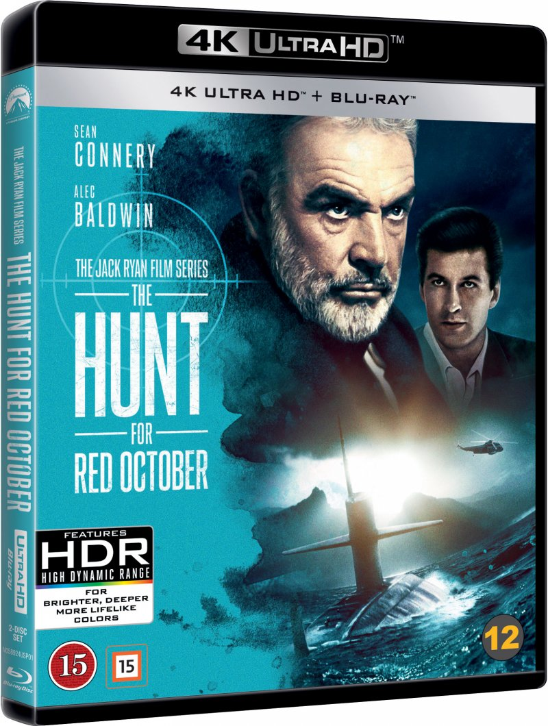 Billede af The Hunt For Red October - 4K Blu-Ray