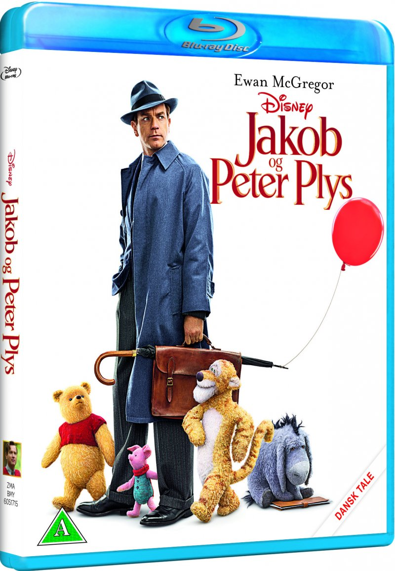 Image of   Jakob Og Peter Plys - Disney - Blu-Ray