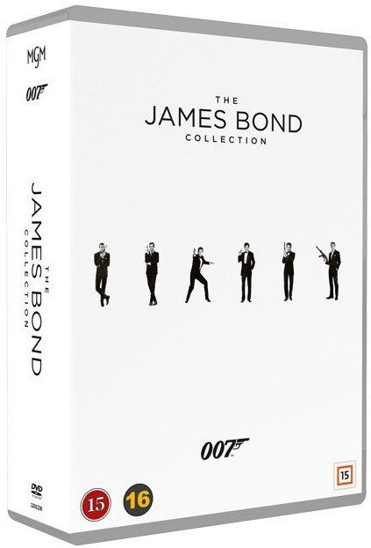 James Bond Collection - 1-24 Box - DVD - Film
