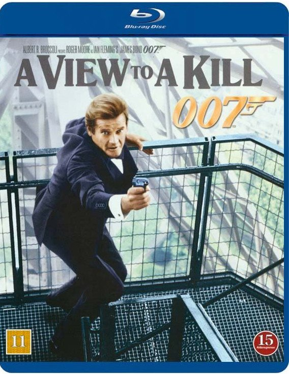 Image of   James Bond I Skudlinjen / A View To Kill - Blu-Ray