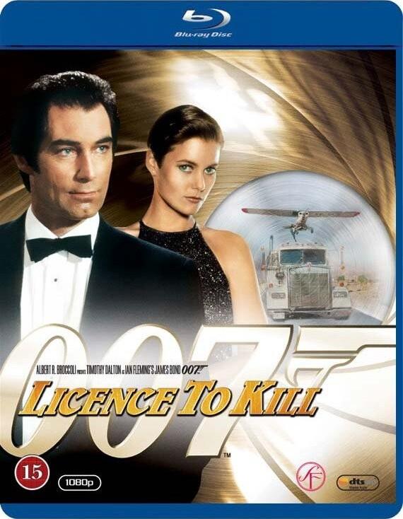 Image of   James Bond - Licence To Kill - Blu-Ray