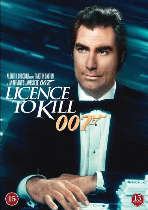 James Bond - Licence To Kill - DVD - Film