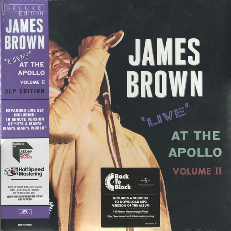 James Brown - Live At The Apollo Vol. 2 - Vinyl / LP