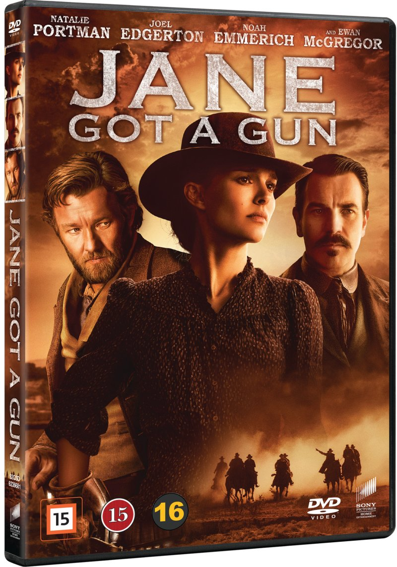 Jane Got A Gun - DVD - Film