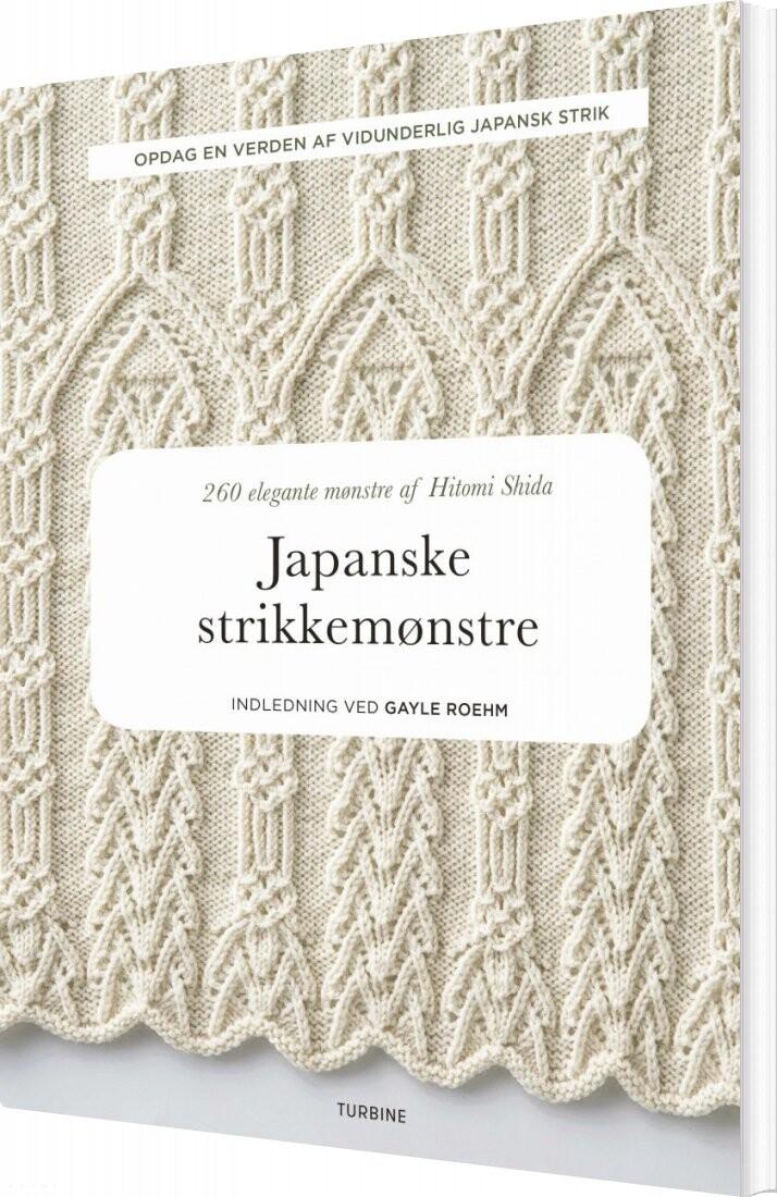 Image of   Japanske Strikkemønstre - Hitomi Shida - Bog