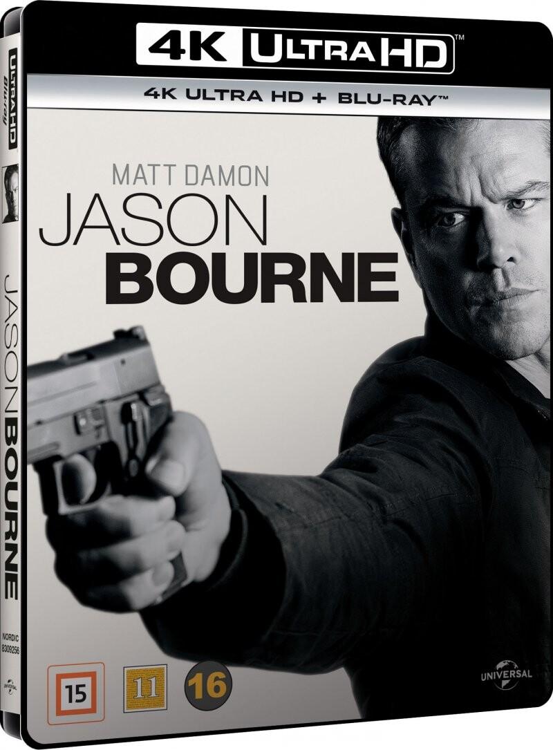 Image of   Jason Bourne 5 - 2016 - 4K Blu-Ray