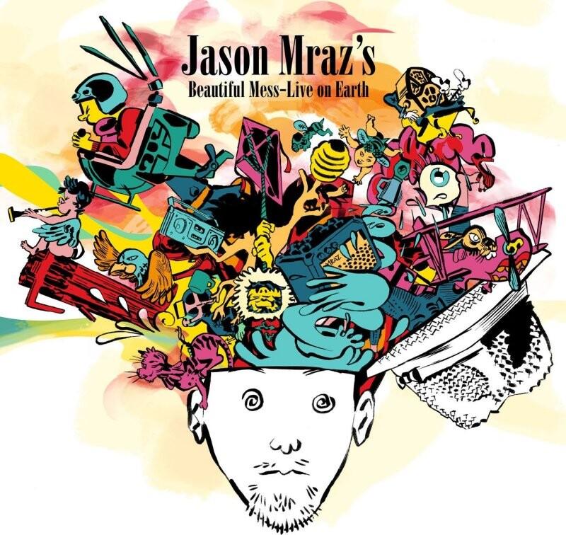 Image of   Jason Mraz - Beautiful Mess - Live On Earth - CD