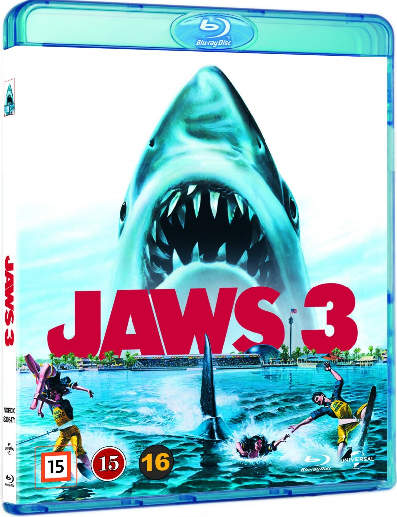 Image of   Jaws 3 / Dødens Gab 3 - Blu-Ray
