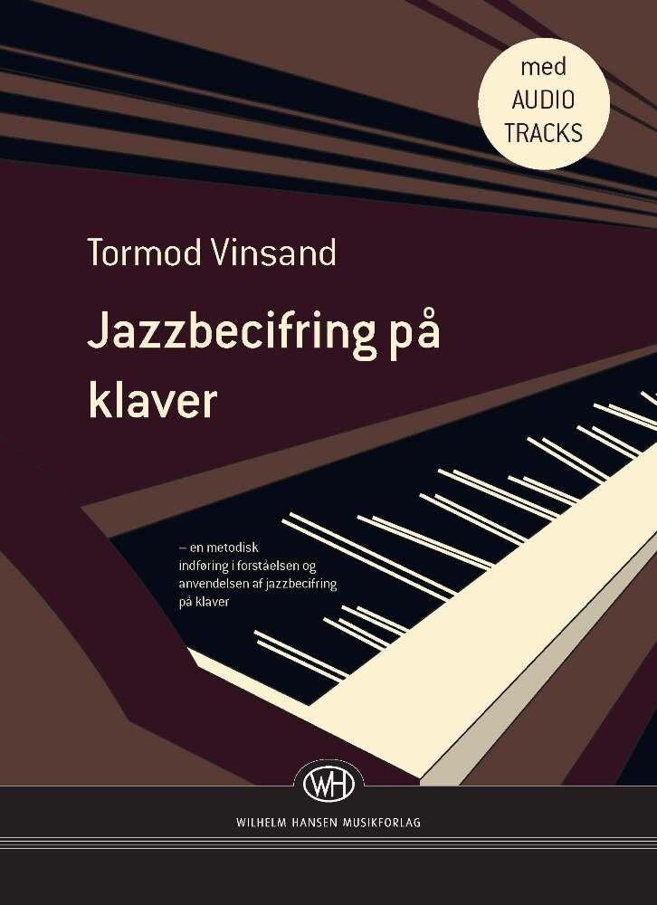 Image of   Jazzbecifring På Klaver - Tormod Vinsand - Bog