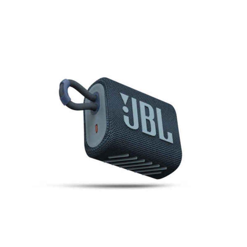 Jbl Go 3 – Bluetooth Højttaler – 5w – Blå
