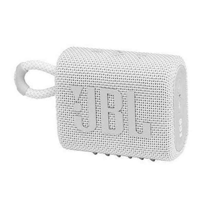 Jbl Go 3 – Bluetooth Højttaler – 5w – Hvid