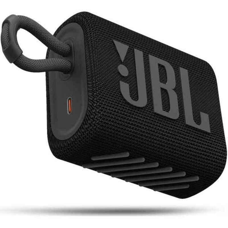Jbl Go 3 – Bluetooth Højttaler – 5w – Sort