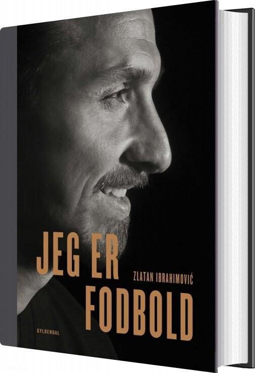 Image of   Jeg Er Fodbold - Zlatan Ibrahimovic - Bog