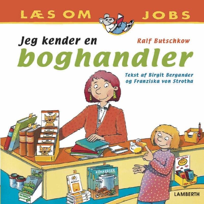 Image of   Jeg Kender En Boghandler - Ralf Butschkow - Bog