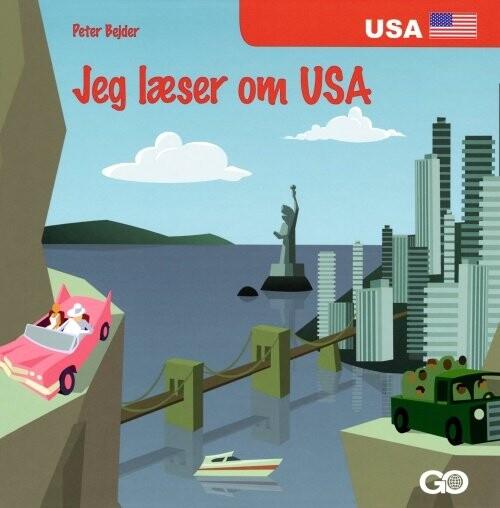 Image of   Jeg Læser Om Usa - Peter Bejder - Bog