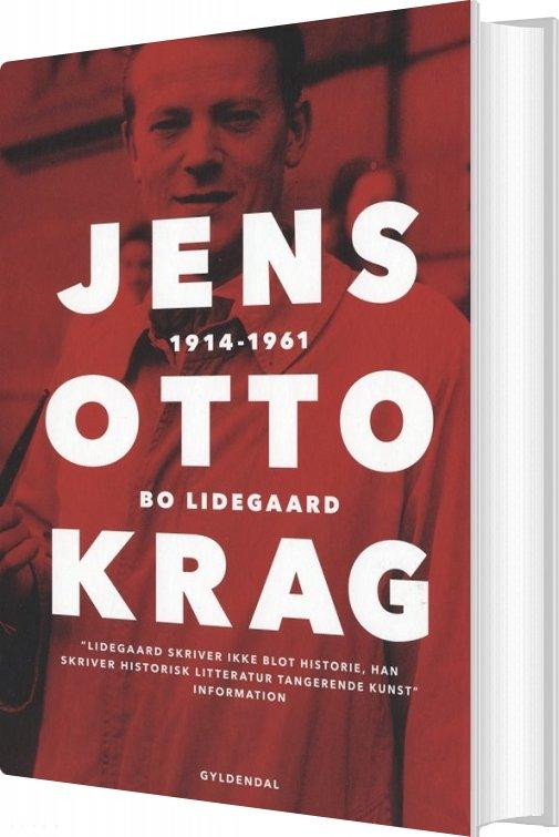 Image of   Jens Otto Krag - Bo Lidegaard - Bog
