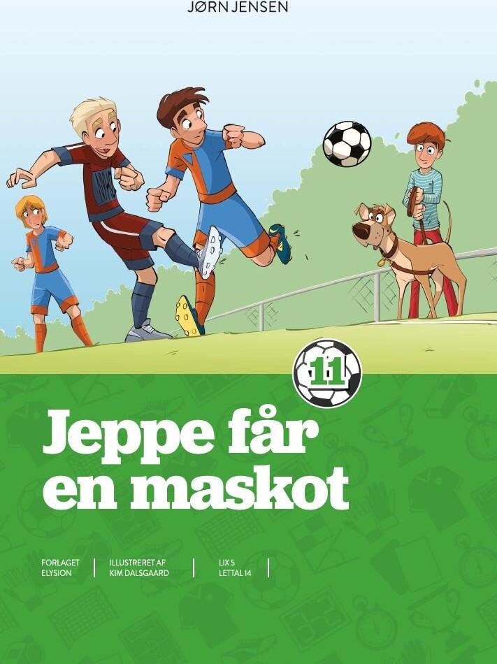 Jeppe Får En Maskot - Jørn Jensen - Bog