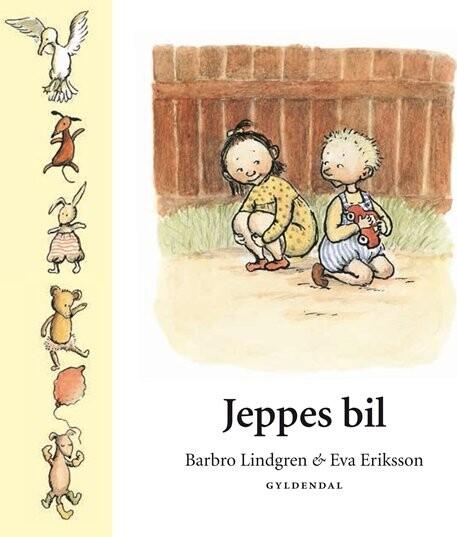 Billede af Jeppes Bil - Barbro Lindgren - Bog