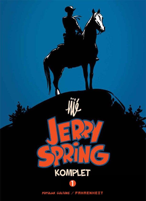 Billede af Jerry Spring - Jijé - Tegneserie