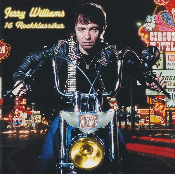 Jerry Williams - 16 Rockklassiker - CD