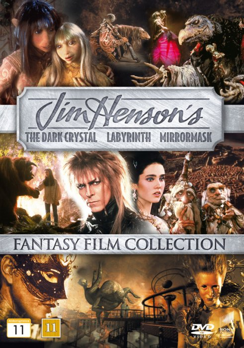 Billede af Labyrinth // Mirrormask // Den Sorte Krystal - Jim Henson Collection - DVD - Film