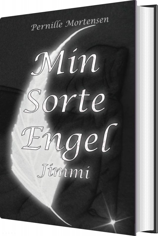 Image of   Jimmi (#1 Min Sorte Engel) - Pernille Mortensen - Bog