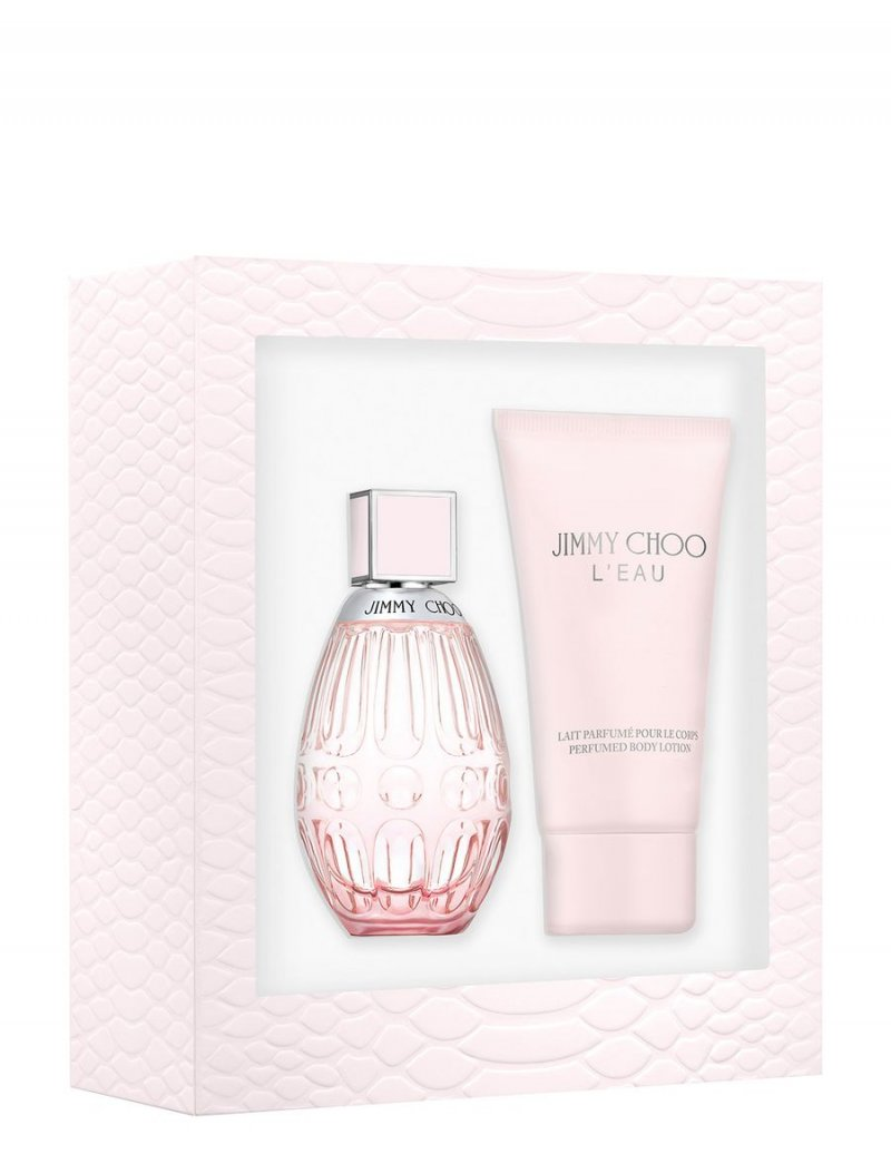 Image of   Jimmy Choo Parfume - Leau Edt 60 Ml + Bodylotion 100 Ml - Gaveæske
