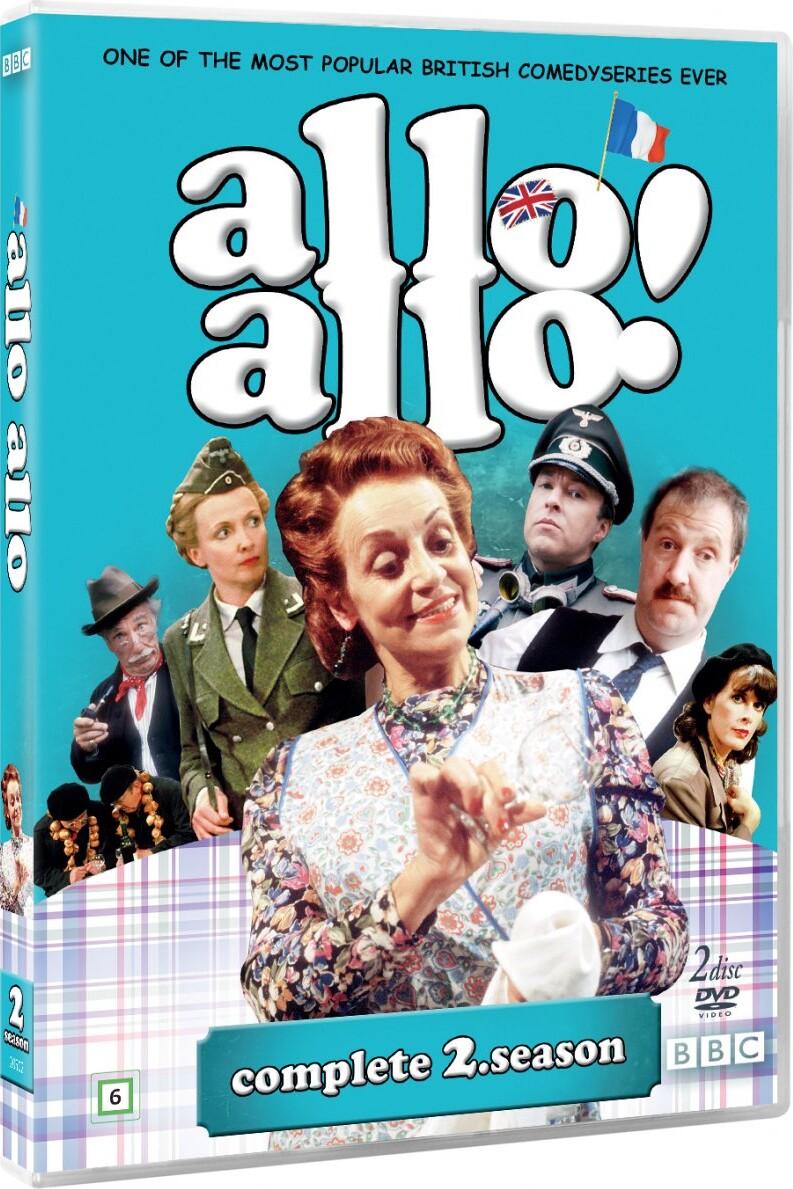 Image of   Allo Allo - Sæson 2 - Bbc - DVD - Tv-serie