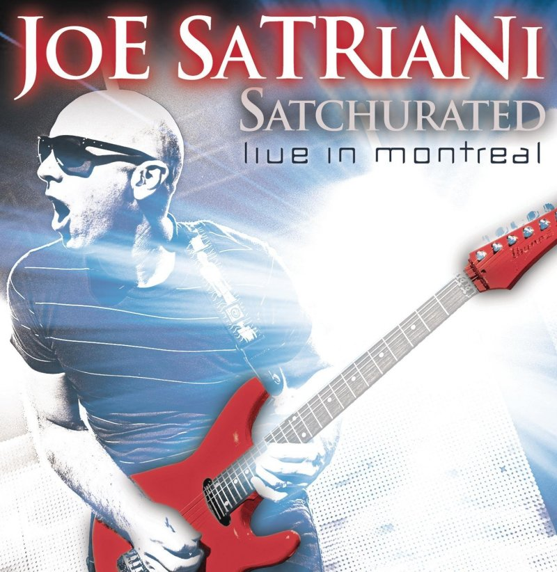 Image of   Joe Satriani - Satchurated: Live In Montreal - CD