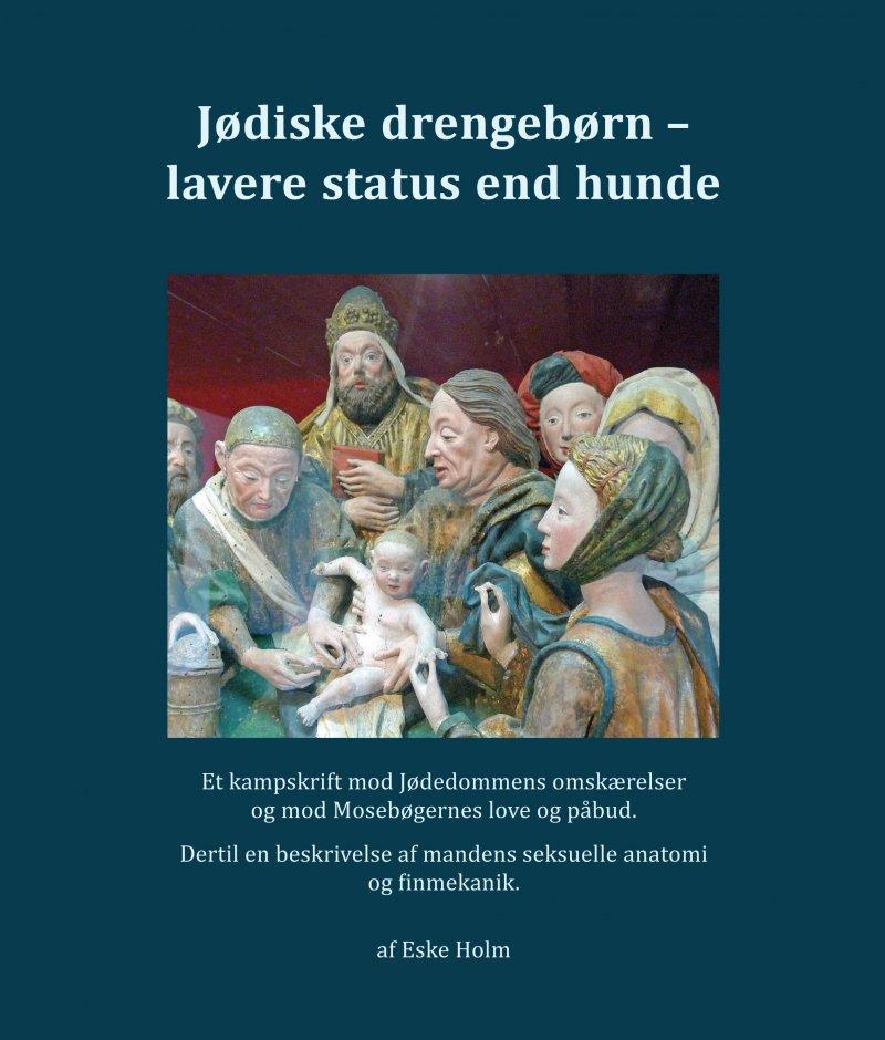 Billede af Jødiske Drengebørn - Lavere Status End Hunde - Eske Holm - Bog