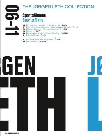 Billede af Jørgen Leth Film Collection - Sportsfilmene - DVD - Film