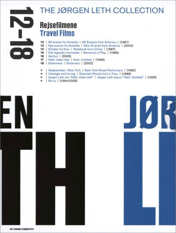 Image of   Jørgen Leth Boks 3 - Rejsefilmene - DVD - Film