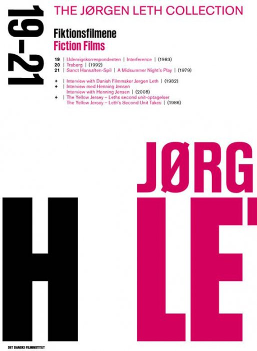 Image of   Jørgen Leth Boks 4 - Fiktionsfilmene - DVD - Film