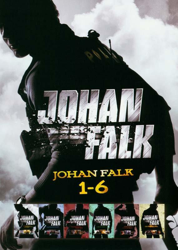 Image of   Johan Falk Boks - Film 1-6 - DVD - Tv-serie