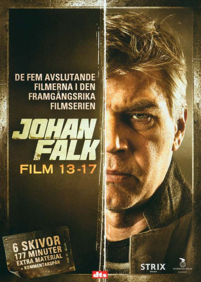 Image of   Johan Falk Boks - Film 13-17 - DVD - Tv-serie