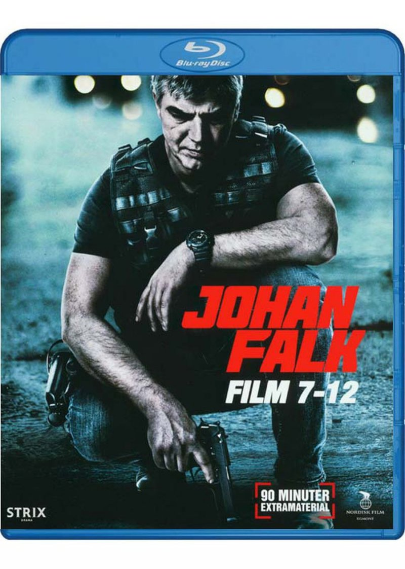 Johan Falk Boks - Film 7-12 - Blu-Ray - Tv-serie