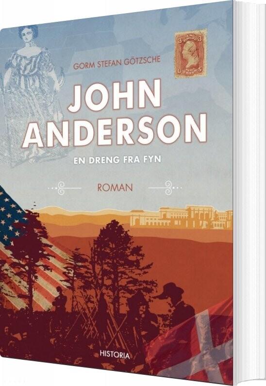 John Anderson - Gorm Stefan Götzsche - Bog