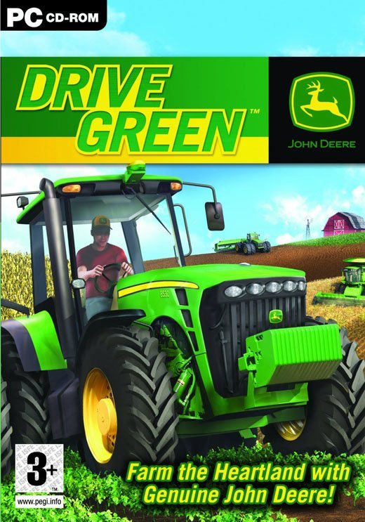 Image of   John Deere Drive Green - PC